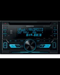 Kenwood DPX-3000U Auto radio 2DIN digitalni, jačine 4x50W sa promenljivom bojom osvetljenja, upravljanjem sadržajem preko Ipod, Iphone i Android telefona.