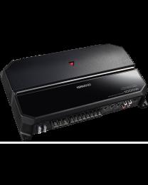Kenwood KAC-PS704 Auto pojačalo maksimalne snaga od 1000W sa ugrađenim varijabilnim Low-pass i varijabilnim High-pass filterom.