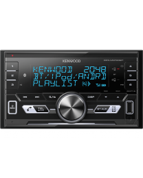 Kenwood DPX-M3100BT Auto radio 2DIN, Bluetooth handsfree & audio streaming, USB konektorom, kompatibilan sa iOS i Android uredajima, LCD displejom itd.