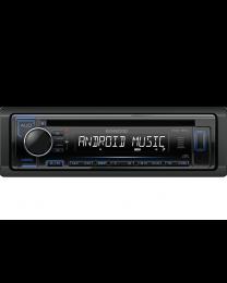 Kenwood KDC-120UB Auto radio jačine 4x50W sa prednjom pločom koja se skida, USB konektorom, kompatibilan sa iOS i Android uredajima, LCD displejom itd.
