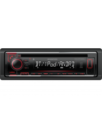 Kenwood KDC-BT520U auto radio jačine 4x50W, Bluetooth handsfree & audio streaming, USB konektorom, kompatibilan sa iOS i Android uredajima, LCD displejom itd.
