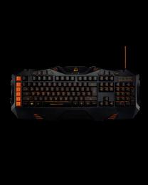 Canyon CND-SKB3-US Gejmerska tastatura se Led osvetljenjem u narandžastoj boji, za iskusne igrače koje vole igrati moderne igre prema najvišim zahtevima.