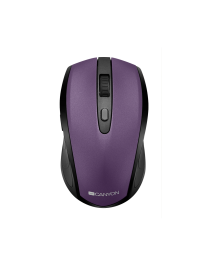 Canyon CNS-CMSW08V Bežični miš sa mogućnošću povezivanje putem USB ili Bluetooth veze i opcijom promene rezolucije 800/1200/1600 DPI.