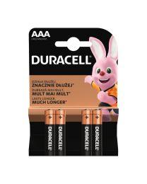 Duracell LR03 AAA 1,5V Alkalne baterije zadovoljavaju najviše standarde kvalitete i nude izvrsnu pouzdanost. U pakovanju 4 komada.