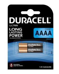 Duracell ULTRA MX2500 AAAA Alkalne baterije zadovoljavaju najviše standarde kvalitete i nude izvrsnu pouzdanost. U pakovanju 2 komada.