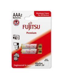 Fujitsu Premium LR03 AAA (2B) Alkalne baterije za maksimalnu snagu, uključujući specijalnu zaštitu od curenja. Za  uređaje koji zahtevaju visok nivo energije