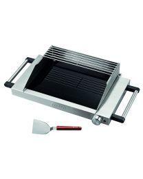 Gorenje GG 1200E Električni roštilj sa staklokeramičkom podlogom, zaštitom od prskanja ulja, inovativnim grejačima...Napravite savršen roštilj kod kuće.