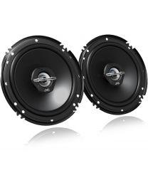 JVC CS-J620X Auto zvučnici Dual Cone zvučnici za automobil bez mrežice maksimalne ulazne snage 300W,  nominalne snage 30W RMS, veličine 16cm.