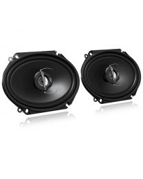 """JVC CS-J6820 Auto zvučnici dimenzija (6"""" x 8"""") sa maksimalnom snagom od 250W dok je realna muzička snaga zvučnika 30W.  Odličan odnos cene i kvaliteta."""