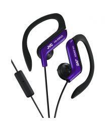 JVC HA-EBR25-AE Slušalice sa ugrađenim mikrofonom i daljinskim upravljačem,  otporne na prskanje, idealne za treninge, trčanje i slično.