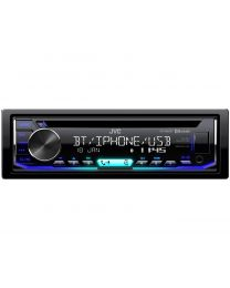 JVC KD-R992BT Auto radio sa Tjunerom, CD, USB i Bluetooth-om, snage 4 x 50 W, varijabilnim osvetljenjem i mnoštvom opcija. Uživajte u vožnji.