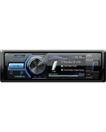 "JVC KD-X560BT Auto radio snage 4x 45 W, sa 3"" TFT LCD ekranom u boji, Bluetooth, AUX I USB ulazom i priključkom za parking kameru."