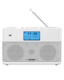 Kenwood CR-ST50DAB-W Radio Radio tjuner sa DAB+, FM tjunerom i Bluetooth-om, priljučkom za slušalice i AUX ulaz za povezivanje analognih izvora.