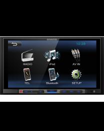 """Kenwood DMX-100BT Multimedija za automobil snage 4 x 50W sa 6.8"""" ekranom, bloutooth-om i podrškom za  iPhone/iPod. Sjajan uređaj za vaš automobil."""