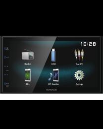 Kenwood DMX120BT Multimedija za automobil snage 4 x 50W sa 6.8 inčnim monitorom USB i Bluetooth tehnologijom povezivanja sa Smart telefonima.