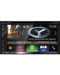 """Kenwood DNX-5180 Auto navigacija sa 6.8"""" ekranom osetljivim na dodir, sa podrškom za USB, SD cart, iPod / iPhone i Ugrađenom Bluetooth jedinicom."""