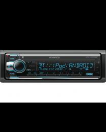 Kenwood KDC-X5200BT Auto radio snage 4 x 50W sa CD, USB i ugrađenom Bluetooth konekcijom i varijabilnim osvetljenjem dugmića.