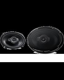 """Kenwood KFC-PS6976 Auto zvučnici, 3-sistemski komponentni zvučnici, maksimalne ulazne snage 550W, 130w RMS, dimenzija 6"""" x 9""""."""