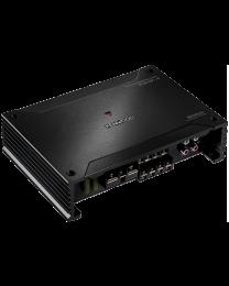 Kenwood X302-4 Auto pojačalo četvorokanalo snage 50W x 4,  iz nove X serije dizajnirane za zvuk visoke rezolucije za autentično iskustvo slušanja.