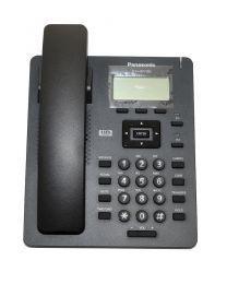 Panasonic KX-HDV100XB SIP telefon sa monohromatskim ekranom od 2.3 inča rezolucije 132 x 64 piksela, 2 programabilna tastera  i imenikom od 500 brojeva.