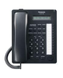 Panasonic KX-AT7730SX-B Sistemski telefon, 12 programabilnih tastera, jednorednim LCD displejom sa 16 karaktera, Spikerfon, Auto answer i Mute tasterima...
