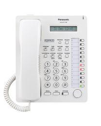 Panasonic KX-AT7730SX Sistemski telefon sa 12 programabilnih tastera, jednorednim LCD displejom sa 16 karaktera, Spikerfon, Auto answer i Mute tasterima...