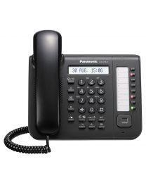 Panasonic KX-DT521X-B Sistemski telefon sa jednorednim LCD ekran i 8 fleksibilnih funkcijskih tastera koji se mogu programirati po želji...