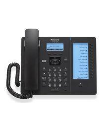 """Panasonic KX-HDV230NEB SIP telefon sa 6 SIP naloga, 2.3"""" osvetljenim ekranom, visokom definicija glasa G.722 (HD Voice) i 500 unosa u telefonski imenik."""