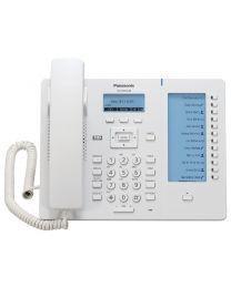 """Panasonic KX-HDV230X SIP telefon sa 6 SIP naloga, 2.3"""" osvetljenim ekranom, visokom definicija glasa G.722 (HD Voice) i 500 unosa u telefonski imenik."""