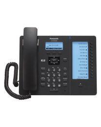 "Panasonic KX-HDV230XB SIP telefon sa 6 SIP naloga, 2.3"" osvetljenim ekranom, visokom definicijom glasa G.722 (HD Voice) i 500 unosa u telefonski imenik."