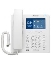 Panasonic KX-HDV340NE SIP telefon sa 4 SIP naloga, 4.3 inčnim kolor TFT LCD displejem sa touch panelom, 24 funkcionala tastera i  2,500 brojava u imeniku.