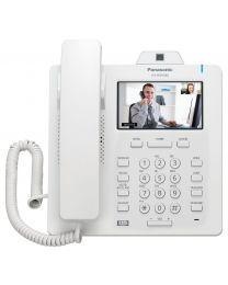 """Panasonic KX-HDV430X SIP telefon sa 16 SIP naloga, 4.3"""" ekranom u boji osetljivim na dodir i ugrađenom kamerom koja pruža mogućnost video konferencije."""