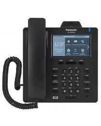 """Panasonic KX-HDV430XB SIP telefon sa 16 SIP naloga, ugrađenom kamerom koja pruža mogućnost video konferencije i 4.3"""" ekranom u boji osetljiv na dodir."""