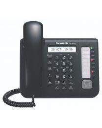 Panasonic KX-NT551X-B Sistemski telefon sa LCD ekranom sa pozadinskim osvetljenjem, 8 slobodnih programibilnih funkcijskih tastera, Spikerfonom...