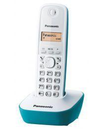Panasonic KX-TG1611FXC Bežični telefon sa osvetljenim displejem i površinom otpornom na otiske prstiju, identifikacijom poziva, memorija 50 brojeva, redial.