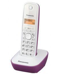 Panasonic KX-TG1611FXF Bežični telefon sa osvetljenim displejem i površinom otpornom na otiske prstiju, identifikacijom poziva, memorija 50 brojeva, redial.