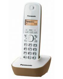 Panasonic KX-TG1611FXJ Bežični telefon sa osvetljenim displejem i površinom otpornom na otiske prstiju, identifikacijom poziva, memorija 50 brojeva, redial.