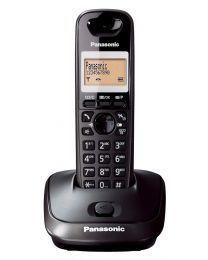 Panasonic KX-TG2511FXT Bežični telefon DECT/GAP sa 1 ulaznom linijom, prikazom na više jezika, Eco funkcijom i memorijom za do 50 primljenih poziva.
