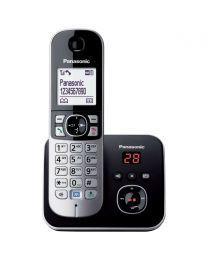 Panasonic KX-TG6821FXB Bežični telefon DECT/GAP bežični telefon sa tehnologijom smanjenog zračenja ECO dect i grafički svetlećim LCD displejom od 1.8 inča