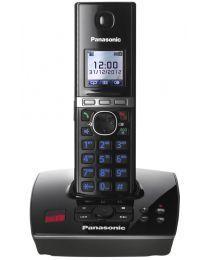 """Panasonic KX-TG8061FXB bežični telefon DECT/GAP sa sekretaricom i 1.45"""" displejom u boji, spikerfonim, svetlećom tastaturom uz mogućnost postavljanja na zid"""