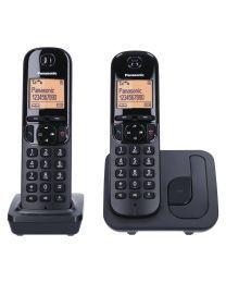 Panasonic KX-TGC212FXB Bežični telefon Sistem DECT 6.0 i GAPP kompatibilan sa mogućnošću primanja poziva preklo bilo kog tastera, alarmom, satom itd.
