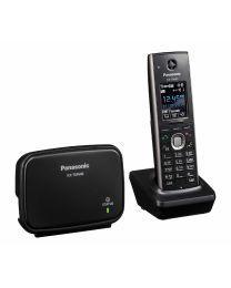 Panasonic KX-TGP600CEB SIP telefon elegantanog dizajna i LCD ekrana u boji (1.8 inča), imenikom od 500 unosa, VoIP podrškom  i funkcijom redukcije buke.
