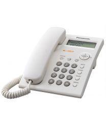 Panasonic KX-TSC11FXW Žični telefon sa LCD ekranom u tri reda i satom, identifikacijom poziva, Redial listom za 20 brojeva i imenikom od 50 brojeva.