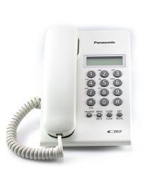 Panasonic KX-TSC60SXW Žični telefon sa LCD ekranom u dva reda identifikacijom dolaznih poziva - Caller ID i Redial funkcijom.