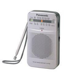 Panasonic RF-P50DEG-S Tranzistor sa zvučnikom 57 mm, podrškom za FM/AM frekvenicije, jednostavan i lak za upotrebu. Uživajte uz zvuke omiljene stanice.