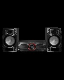 Panasonic SC-AKX320E-K Mini linija smage 450W radio tjunerom, CD Plejerom, podrškom za mobilne uređaje i DJ funkcijama: efekti, Jukebox, DJ....