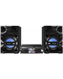 Panasonic SC-MAX3500EK Mini linija snage 2000W sa cd plejerom, Bluetooth-om i radio tjunerom uz moćan zvuk i novi dizajn kojim se uklapa u vaš životni stil.