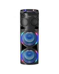 Panasonic SC-TMAX50E-K Bluetooth zvučnik sa funkcijama potrebnee na zabavi, kao što su DJ Play, Full Karaoke i MAX Dance Illumination.