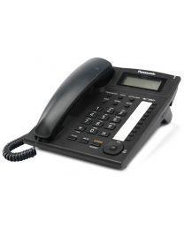 Panasonic KX-TS880FXB Žični telefon sa 10 tastera za brzo biranje, Redial, Flash, 4 nivoa jačine slušalice,  Caller IDi mogućnošču zidne montaže.