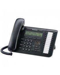 Panasonic KX-NT543X-B IP telefon sa 24 tastera, LCD ekranom sa 3 reda/24 karaktera, • 2 Ethernet porta,  Eco mod...Moguće montiranje na zid.